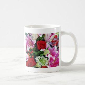 Mug Lis et impression florale de roses