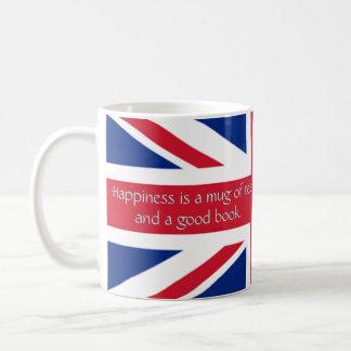Mug Livre de drapeau de l'Angleterre bon de thé