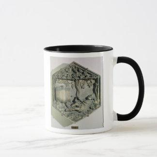 Mug L'ivresse de Noé, décoratif hexagonal
