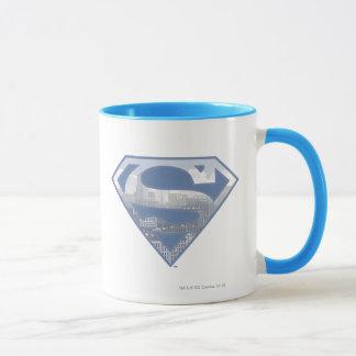 Mug Logo bleu-clair de ville du S-Bouclier | de