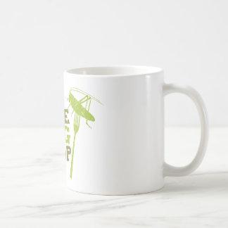 Mug Logo comestible de magasin d'insecte
