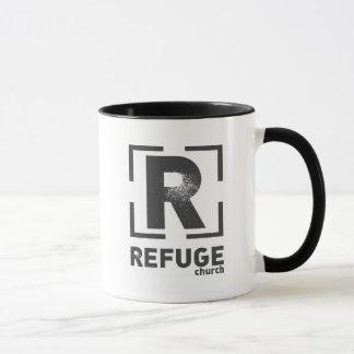 Mug Logo de canalisation d'église de refuge