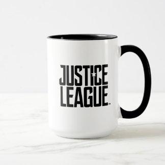 Mug Logo de ligue de justice de la ligue de justice |