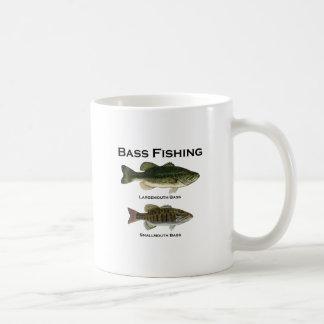 Mug Logo de pêche au bar (de large ouverture -