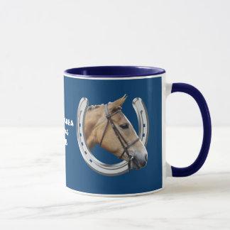 Mug Logo en fer à cheval d'équitation