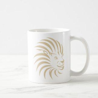 Mug Logo fait sur commande de bruissement de lion
