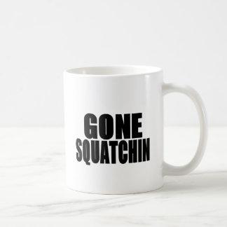 Mug Logo noir allé de Squatchin