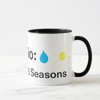 Mug L'Ohio : Terre de 365 saisons