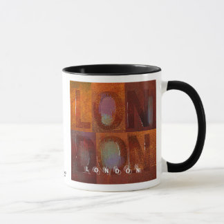 """Mug Londres (conception de """"carrés"""")"""