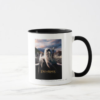 Mug LOTR : Affiche de film de TTT Saruman