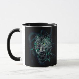 Mug Loup indien vert