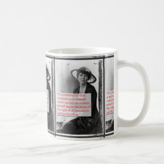 Mug Lucy brûle la suffragette