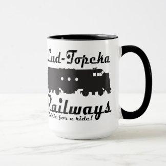 Mug Lud-Topeka chemins de fer - énigme pour un tour !