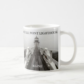 Mug Lumière de point de Marshall, port Clyde Maine