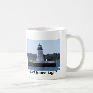 Mug Lumière d'île de chèvre, lumière de colline de