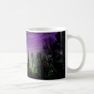 Mug Lumières du nord - l'aurore Borealis - traînées