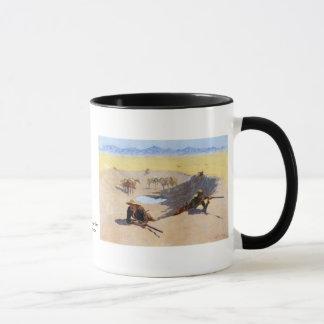 Mug Luttez pour le ~ Frederic Remington de trou d'eau