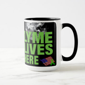 Mug Lyme vit ici aux USA