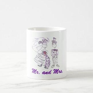Mug M. et Mme/lune de miel