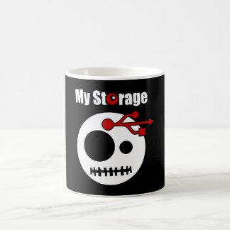 Mug Ma TÊTE d'USB de stockage