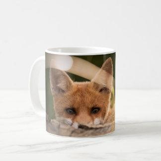Mug maculez la tasse, décor rusé, petit animal de