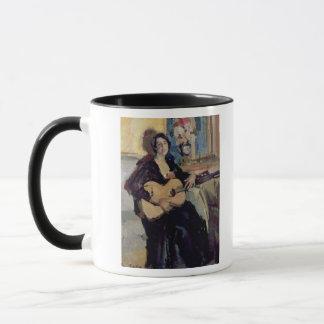 Mug Madame avec une guitare, 1911
