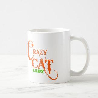 Mug Madame folle Collection de chat