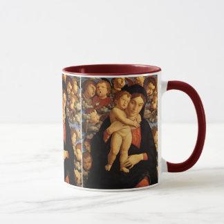 Mug Madonna du Cherubim par Andrea Mantegna