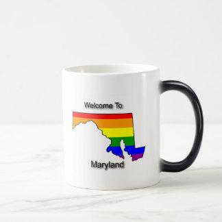 Mug Magique Accueil vers le Maryland gai