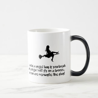 Mug Magique Ange souple avec le balai