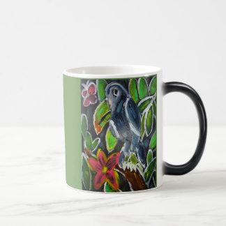 Mug Magique Art de toucan de forêt tropicale