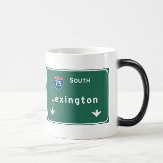 Mug Magique Autoroute d'autoroute nationale de Lexington