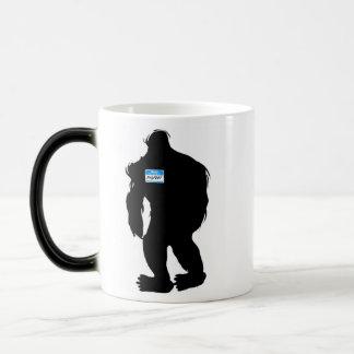 Mug Magique Bonjour-Mon nom est Bigfoot