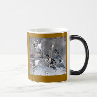 Mug Magique Canards d'hiver