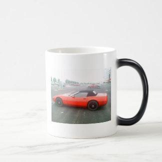 Mug Magique Corvette rouge