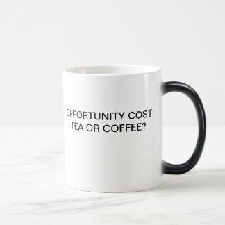 MUG MAGIQUE COÛT D'OPPORTUNITÉ - THÉ OU CAFÉ ?