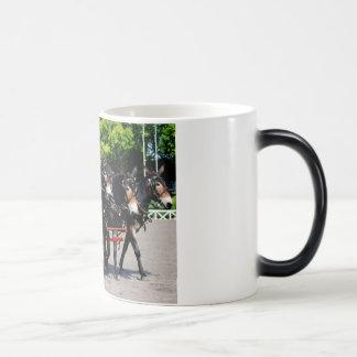 Mug Magique exposition de cheval/mule de trait de va de