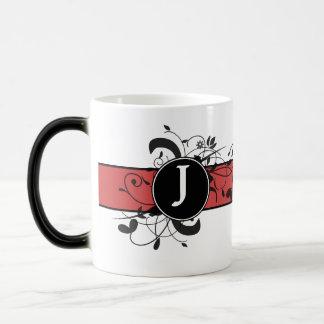 Mug Magique Flourish victorien personnalisé décoré d'un