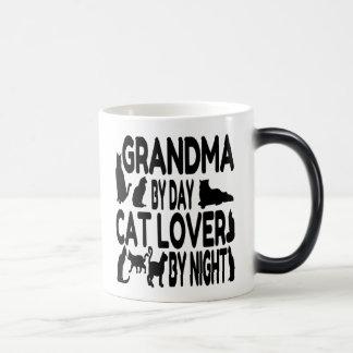 Mug Magique Grand-maman d'amoureux des chats