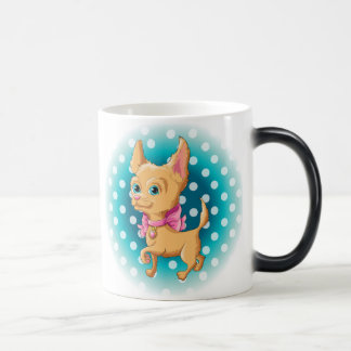 Mug Magique Illustration d'un chiwawa mignon de chien