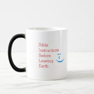 Mug Magique Instructions de bible