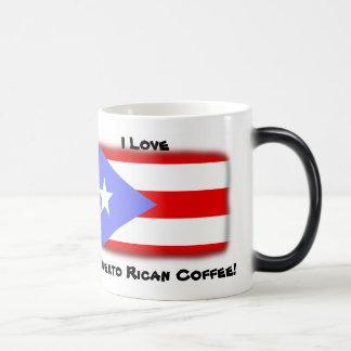 Mug Magique J'aime mon café portoricain