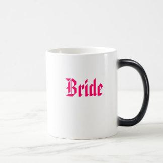 Mug Magique Jeune mariée, jeune mariée