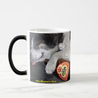 Mug Magique Le café vice de son maître
