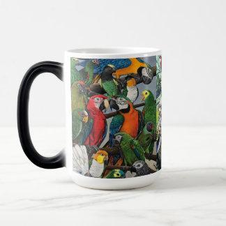 """Mug Magique Les """"perroquets de Peter """""""