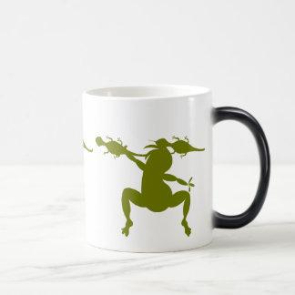 Mug Magique Lézards verts et Kokopelli de danse