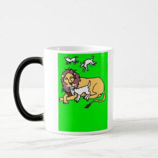 Mug Magique Lion et agneau