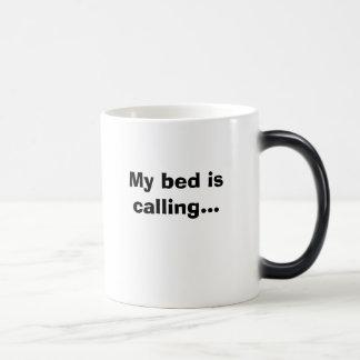 Mug Magique Mon lit appelle…