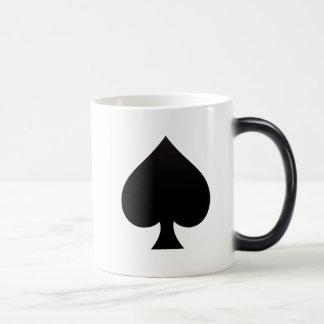 Mug Magique Pelle - costume d'icône de cartes