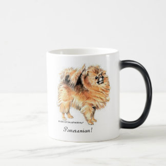 Mug Magique Pomeranian !